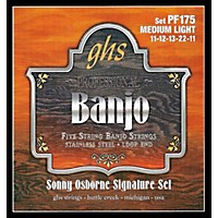 Ghs Sonny Osborne Signature Banjo Strings Medium Light