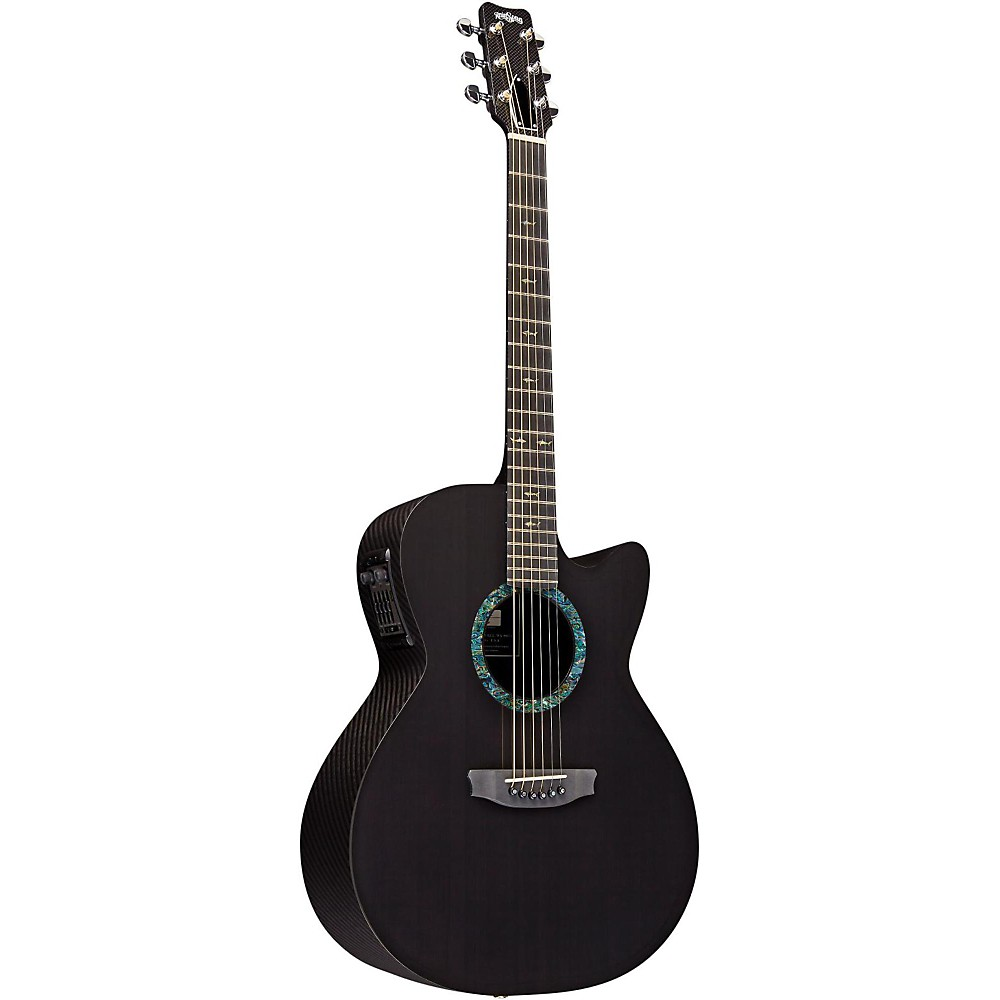 Rainsong Co-Ws1000n2 Concert Series Graphite Acoustic-Electric Guitar Carbon