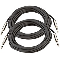 Musician's Gear 16 Gauge Speaker Cable Black 25 Feet 2-Pack