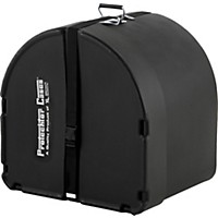 Protechtor Cases Protechtor Classic Bass Drum Case, Foam-Lined 22 X 20 In. Black