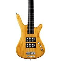 Warwick Rockbass Corvette $$ 5-String Electric Bass Honey Violin Oil