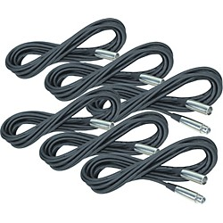 Rapco Horizon Lo-Microphone Cable 20 Feet 6-Pack