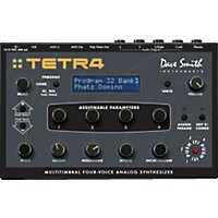 Dave Smith Instruments Tetra Multitimbral 4 Voice Analog Synthesizer