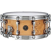 Tama Starphonic Snare Drum Satin Mappa Burl  ...