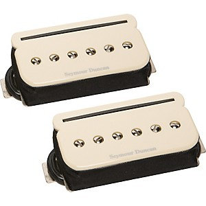 Seymour Duncan Shpr-1S P-Rails Neck And Bridge Pickup Set Cream