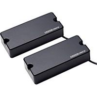 Basslines Asb-Bo-5S Blackouts For 5-String Bass Neck & Bridge Set Black