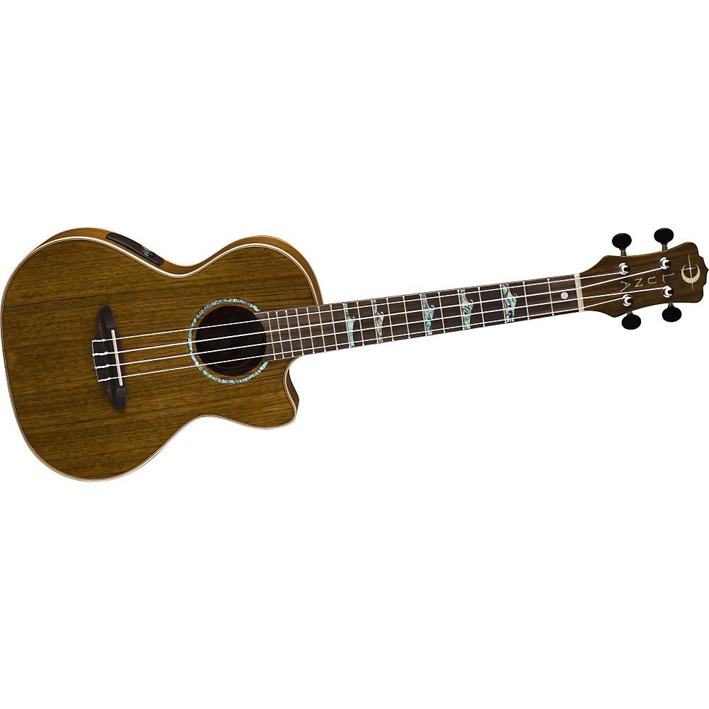 Luna Guitars High-Tide Ovangkol Tenor Ukulele Ovangkol
