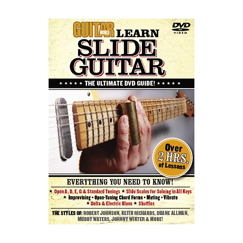 Alfred Guitar World: Learn Slide Guitar (Dvd) 1273887984276