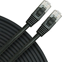 Rapco Horizon Oculus Cat5e Patch Cable Black 3 Ft.