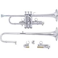 Bach Ade190 Stradivarius Artisan Series Eb/D Trumpet Ade190s Silver