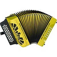 Hohner El Rey Del Vallenato Adg Accordion Yellow