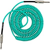 Lava Retro Coil 20 Foot Instrument Cable Straight To Straight Assorted Colors Seam Foam Green