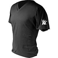 Music Man Logo On Sleeve V-Neck Tee Black X Large