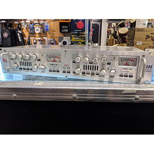 dbx 586 Dual Vacuum Tube Pre Audio Converter