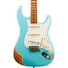'59 Heavy Relic Stratocaster Maple Fingerboard Electric Guitar Aged Daphne Blue