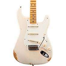 '59 Heavy Relic Stratocaster Maple Fingerboard Electric Guitar Aged White Blonde