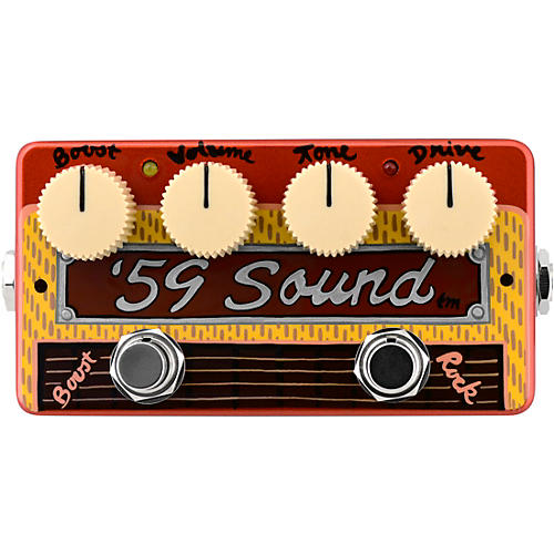 Zvex '59 Sound Hand-Painted Overdrive Effects Pedal