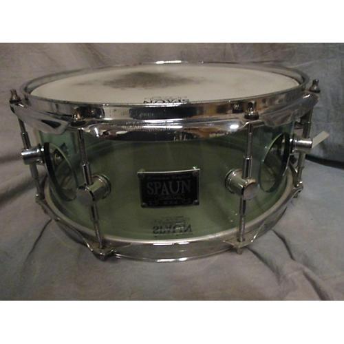 Spaun 5X13 Acrylic Vented Snare Drum