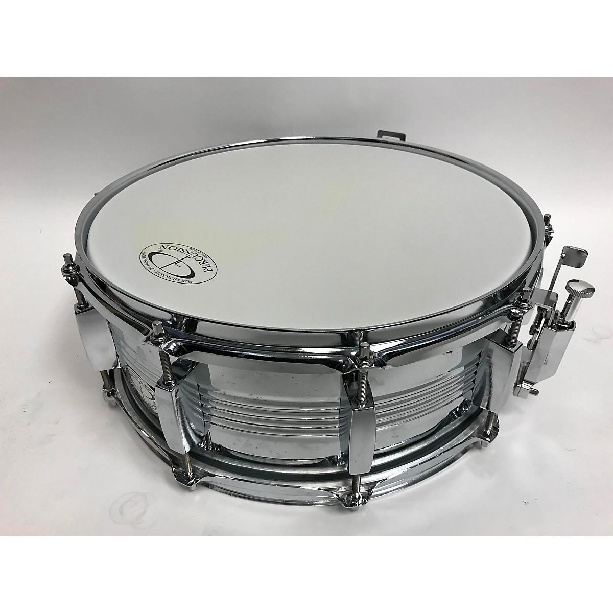 GP Percussion 5X13 Steel Snare Drum Drum