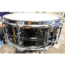 Crush Drums & Percussion 5X14 Black Nickel Plated Beaded Steel Drum