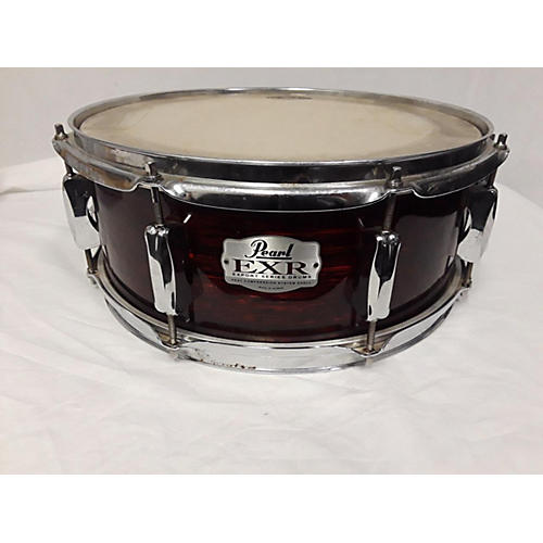 used pearl 5x14 exr export snare drum red onyx 8 guitar center