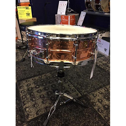 Ludwig 5X14 Hammered Snare Drum