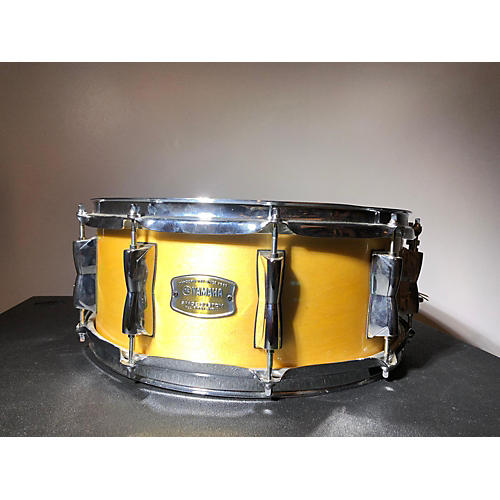 used yamaha 5x14 stage custom snare drum natural 8 guitar center. Black Bedroom Furniture Sets. Home Design Ideas