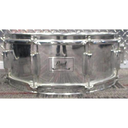 Pearl 5X14 Steel Snare Drum