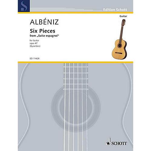 Schott 6 Pieces (Guitar Solo) Schott Series