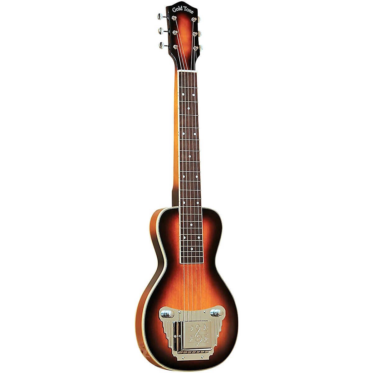 Gold Tone 6-String Solid Body Lap Steel For Left Hand Players