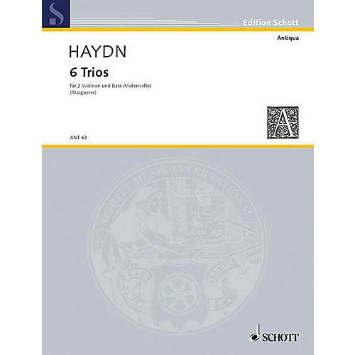 Schott Music 6 Trios Schott Series Composed by Joseph Haydn