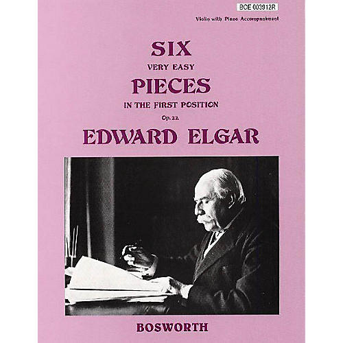 Bosworth 6 Very Easy Pieces for Violin Op. 22 Music Sales America Series
