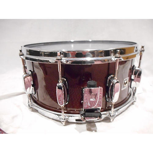 used tama 6 5x14 artwood snare drum red mahogony 15 guitar center. Black Bedroom Furniture Sets. Home Design Ideas