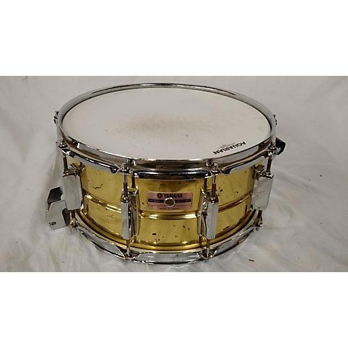 Yamaha 6.5X14 BRASS SNARE Drum