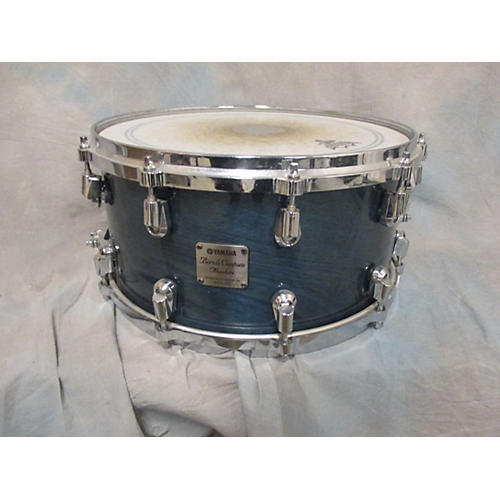 Yamaha 6.5X14 Birch Custom Absolute Trans Blue Drum