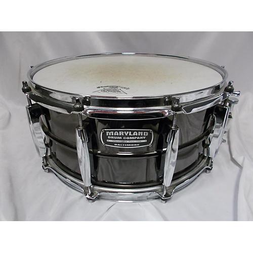 Maryland Drum 6.5X14 Black Brass Snare Drum