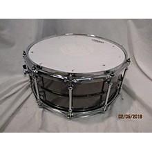Spaun 6.5X14 Black Nickel Over Brass Drum