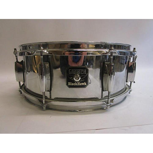 Used Gretsch Drums 65X14 Blackhawk Snare Drum Chrome 15