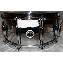 Gretsch Drums 6.5X14 Brooklyn Series Chrome Over Brass Snare Drum