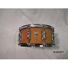 Ludwig 6.5X14 Classic Maple Teak Wood Snare Drum