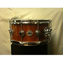 DW 6.5X14 Collector's Series Exotic Maple Mahogany Snare Drum