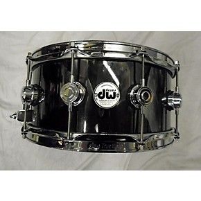 used dw 6 5x14 collector 39 s series metal snare drum stainless steel 15 guitar center. Black Bedroom Furniture Sets. Home Design Ideas
