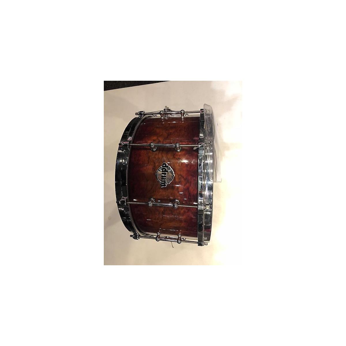 ddrum 6.5X14 Maple/Bubinga Custom Drum