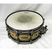 Orange County Drum & Percussion 6.5X14 NATURAL BLACK BURST ASH SNARE Drum