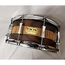 Pork Pie 6.5X14 Rosewood Zebrawood Snare Drum