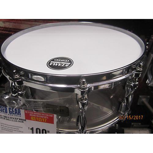 TAMA 6.5X14 SLP MIRAGE ACRYLIC SHELL Drum
