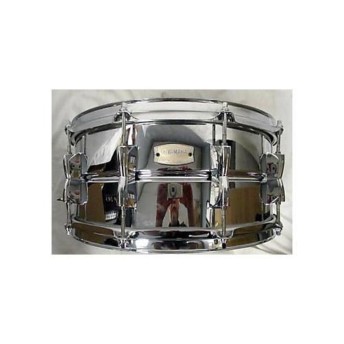 used yamaha 6 5x14 stage custom snare drum chrome 15 guitar center. Black Bedroom Furniture Sets. Home Design Ideas
