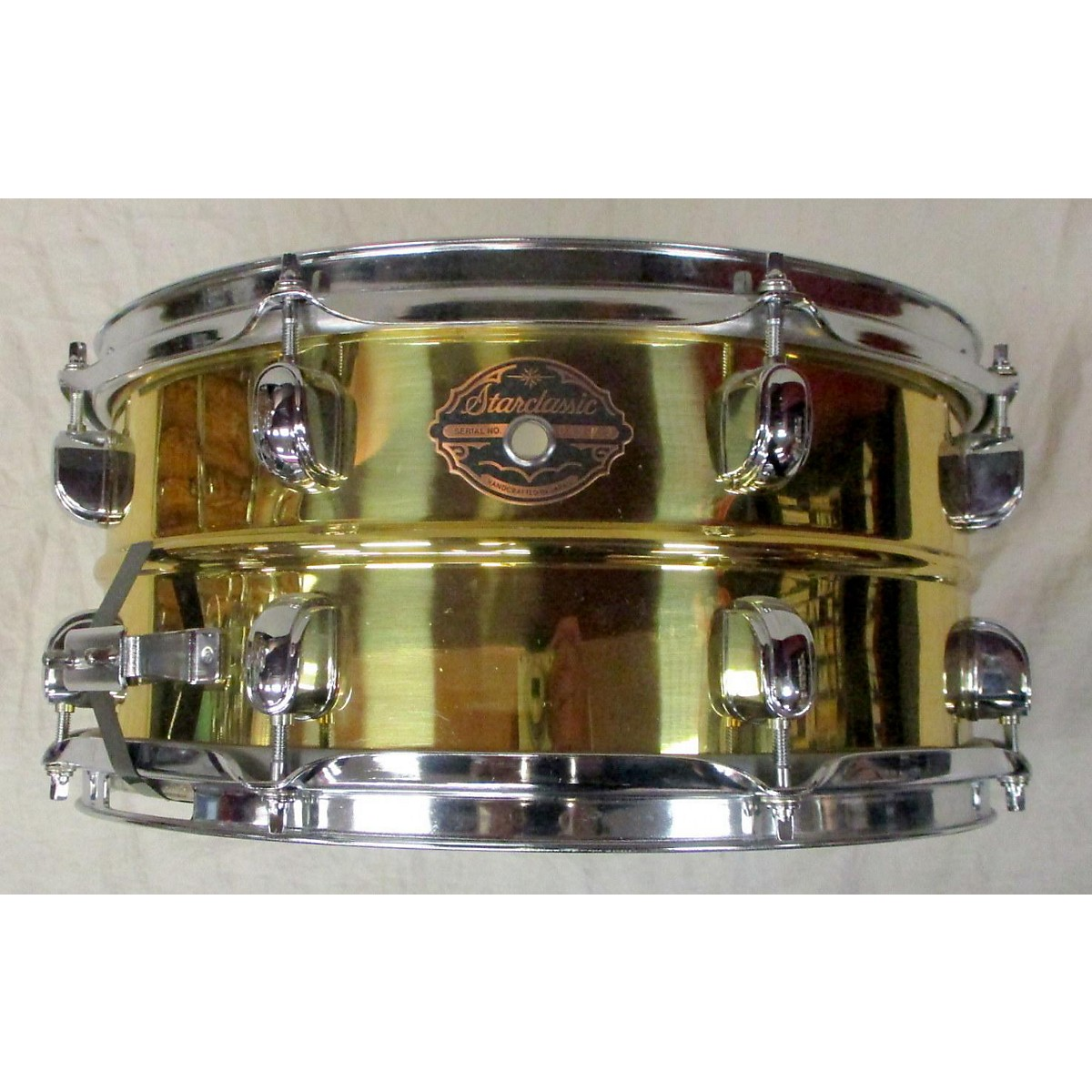 TAMA 6.5X14 Starclassic Brass Snare Drum