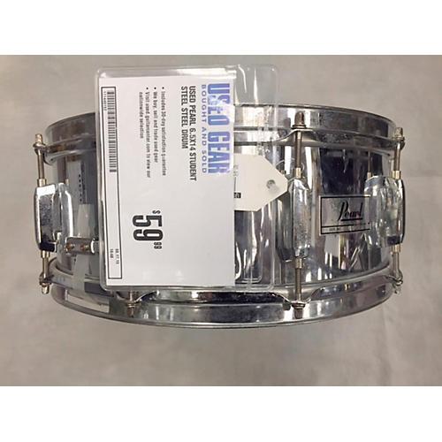 Pearl 6.5X14 Student Steel Steel Drum