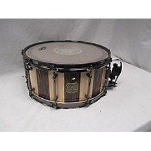 OUTLAW DRUMS 6.5X14 Suite Stripe Douglas Fir And Maple Stave Drum